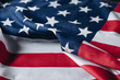 folded flag of united states of america, memorial day concept