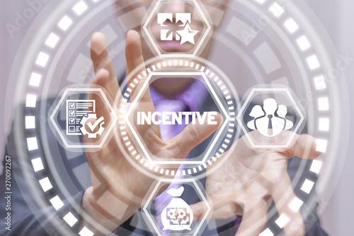 Fotografía  Incentive business finance concept