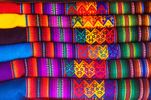 Peruvian Traditional Colorful ...