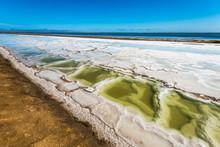 Salt Works At Walvis Bay, Nami...