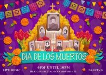 Mexican Dia De Los Muertos Holiday, Altar Photos