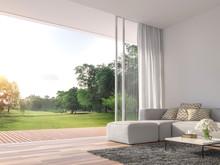 Modern Living Room 3d Render.T...