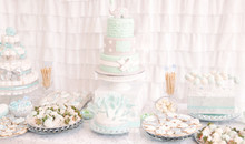 Dessert Table Decoration For A Baby Shower Cute Party