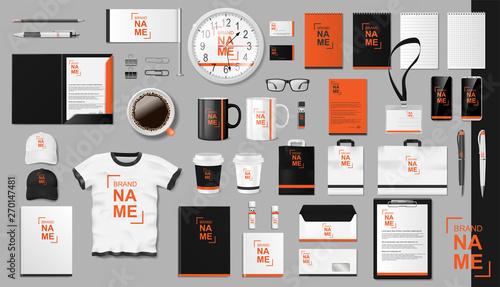 Carta da parati Corporate Branding identity template design