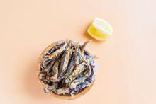 Fried Sardines (fish) Pescaito...