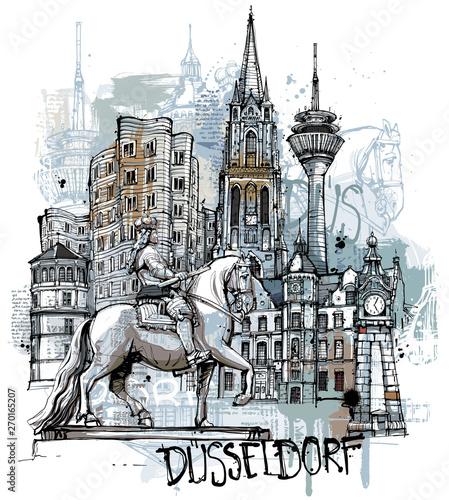 Düsseldorf Sketch