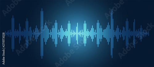 Fototapeta equalizzatore, musica, audio, vettoriale, equalizzazione,