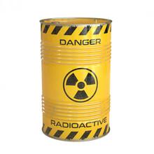 Radioactive Waste Yellow Barre...