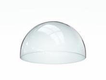 Empty Glass Dome, Transparent ...