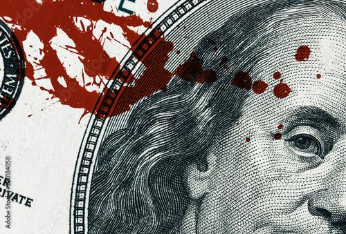 Blood Money Fototapet