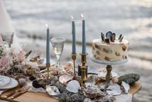 Sea Wedding Decor On The Coast...