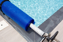 Pool Cover Blue Bubble Solar Equipment To Hot Water