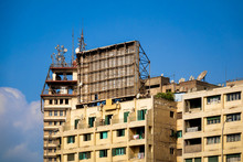 Old Hotel Building In Cairo Eg...