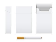 Cigarette Pack Realistic Set, ...