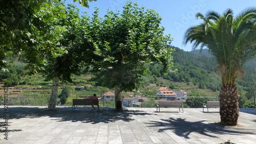 Galicia. Ribadavia, medieval village of Ourense. Spain