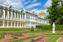 Catherine Palace And Park In T...