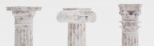 Realistic 3d Render Of Columns...