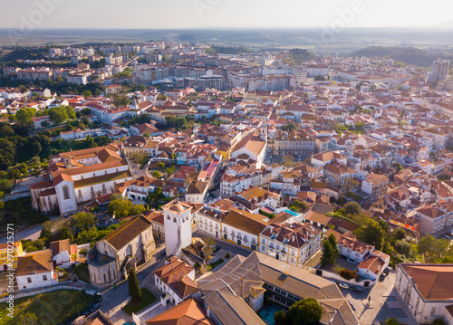 Aerial view of Santarem, Portugal Fototapet