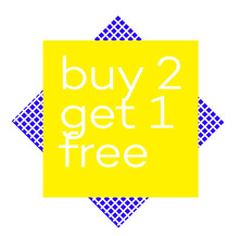 BUY 2 GET 1 FREE Stamp On Whit...