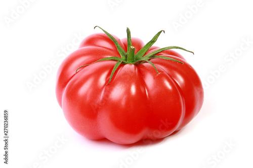 Fototapeta Tomate Cœur de bœuf côtelée obraz