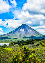 Landscape With Arenal Volcan I...