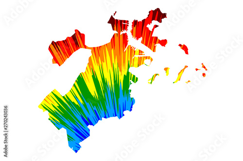 Boston City United States Of America Usa U S Us United States Cities Usa City Map Is Designed Rainbow Abstract Colorful Pattern City Of Boston Map Made Of Color Explosion Buy This