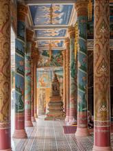 Säulen Eines Alten Tempels In...
