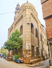The Corner Of Amir Qijmas Al-Ishaqi Mosque, Cairo, Egypt