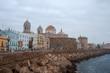 paseo por la hermosa ciudad de Cádiz, España