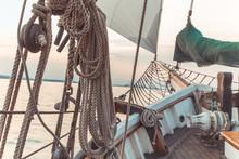 Sail Boat Rope