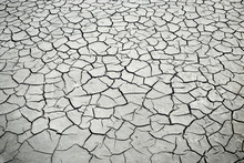 Dry Ground, Cracked Earth Texture