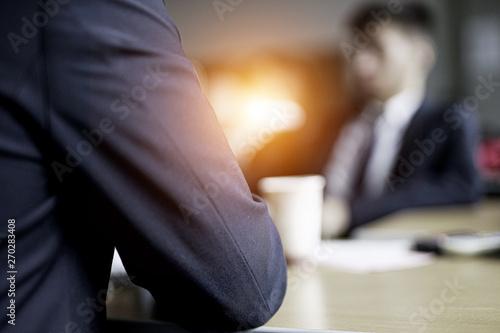 Fotografie, Obraz  Interview / Gespräch / Business / Vorstellungsgespräch