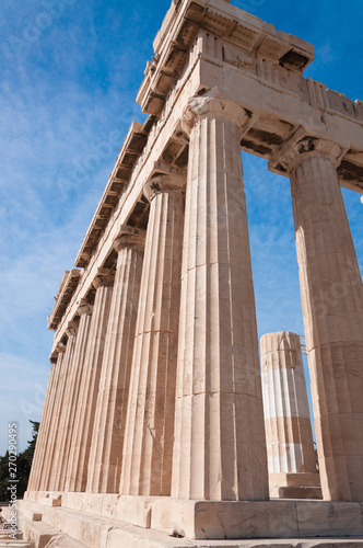 The Parthenon temple, Athens, Greece Canvas Print
