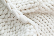 White texture background from merino blanket