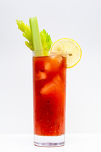Freshly Made Bloody Mary Cockt...