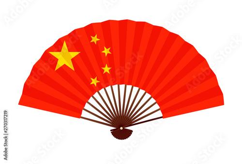 中国   国旗 象徴 アイコン Canvas Print
