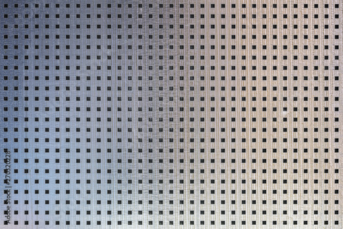 Tablou Canvas perforated metal seamless texture