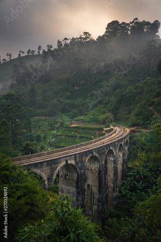 ella nine arch bridge sri lanka Wallpaper Mural