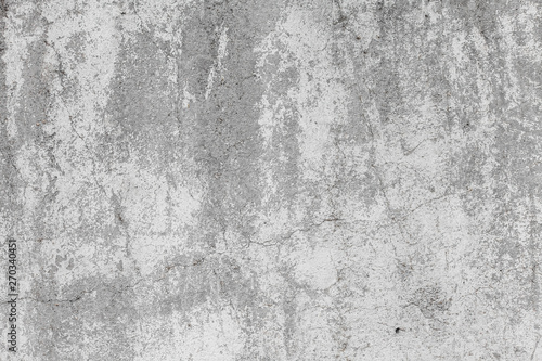 Foto auf AluDibond Steine The texture of the old grey concrete wall with scratches, cracks, dust, crevices, roughness, stucco. Can be used as a poster or background for design