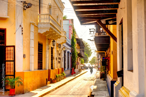 Canvas Prints Old building Santa Marta, Colombia