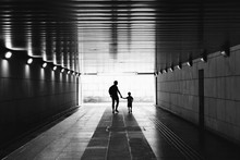 Silhouettes In The Tunnel - Ma...
