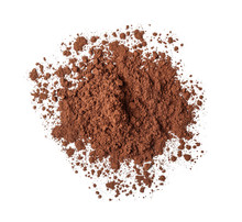 Heap Of Cocoa Powder On White Background