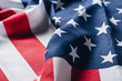 folded united states national country flag, memorial day concept
