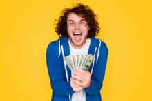 Lottery Winner With Money