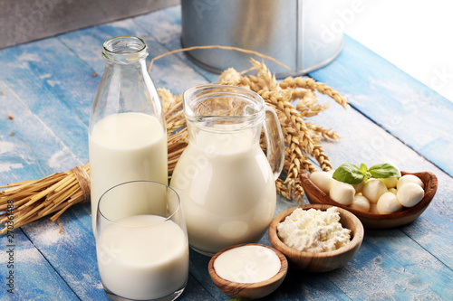 Fotomural  milk products