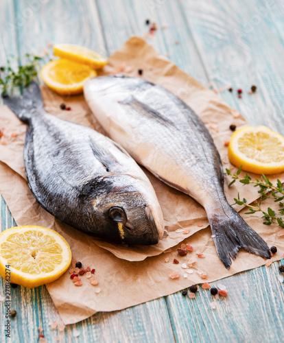 Fotografie, Tablou  Fresh fish dorado