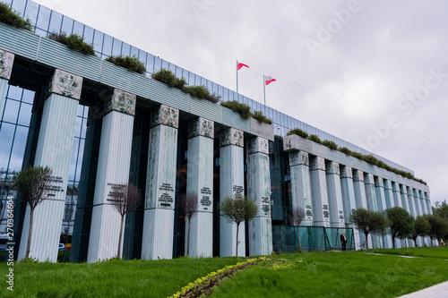 budynek Sądu Najwyższego w Warszawie - fototapety na wymiar