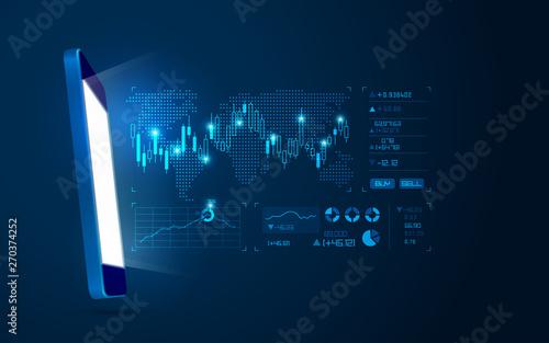 Foto online trading