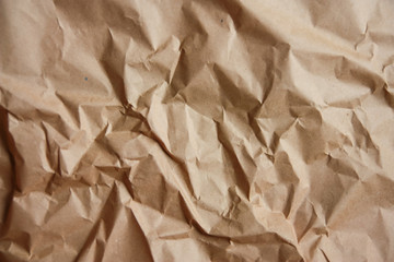brown recycle crumpled paper for background : brown paper textures backgrounds for design,decorative. paper textures concept