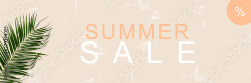 Photo Summer Sale  / Textfreiraum / Banner